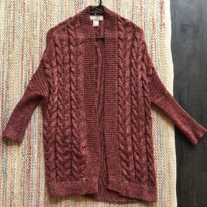 Women's sweater cardigan size small